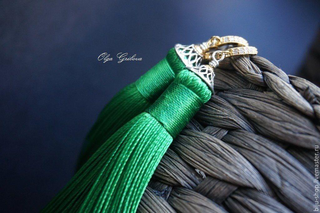 Как сделать кисти из шелковых ниток своими руками
