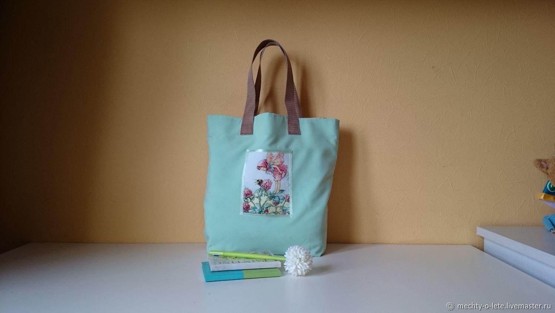 Mint Bag with Flower Fairy, Shopper, Mytishchi,  Фото №1