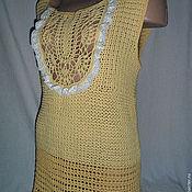 Одежда handmade. Livemaster - original item Top Solar. Handmade.