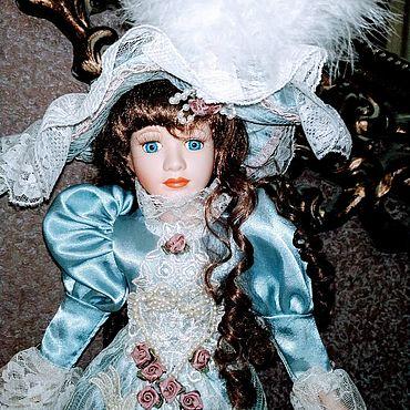 Винтаж ручной работы. Ярмарка Мастеров - ручная работа Винтаж: Кукла фарфоровая 45 см. Handmade.