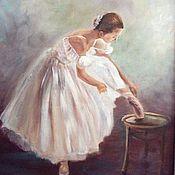 Картины и панно ручной работы. Ярмарка Мастеров - ручная работа Балеринка. Handmade.