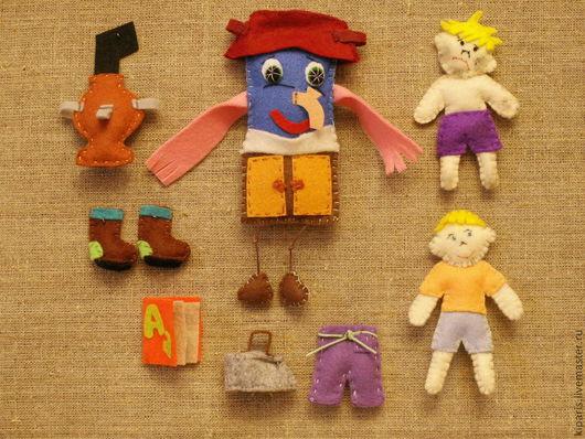Сказочные персонажи ручной работы. Ярмарка Мастеров - ручная работа. Купить Фетровая сказка Мойдодыр. Handmade. Фетр, куклы и игрушки