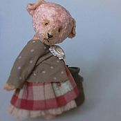 Куклы и игрушки ручной работы. Ярмарка Мастеров - ручная работа Мишка-тедди Мишка. Handmade.