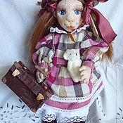 Куклы и пупсы ручной работы. Ярмарка Мастеров - ручная работа Кукла Полианна авторская подвижная текстильная. Handmade.