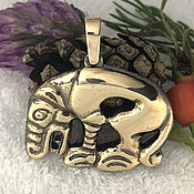Фен-шуй и эзотерика handmade. Livemaster - original item Scythian Bear charm talisman amulet made of metal. Handmade.