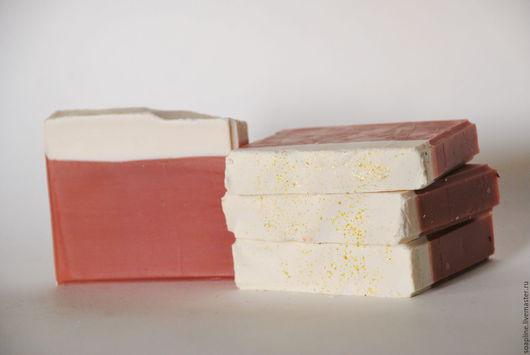 """Мыло ручной работы. Ярмарка Мастеров - ручная работа. Купить """"Роза Бордо"""" натуральное шелковое мыло с нуля. Handmade. Бордовый"""