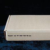 """Коробки ручной работы. Ярмарка Мастеров - ручная работа Почтовая коробка тип """"Е"""". Handmade."""