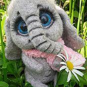 Куклы и игрушки ручной работы. Ярмарка Мастеров - ручная работа Слоненок Тепка. Handmade.