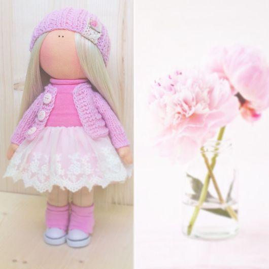 Коллекционные куклы ручной работы. Ярмарка Мастеров - ручная работа. Купить Текстильная кукла.. Handmade. Кукла ручной работы