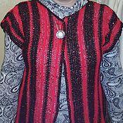 Одежда ручной работы. Ярмарка Мастеров - ручная работа жилетка нарядная. Handmade.