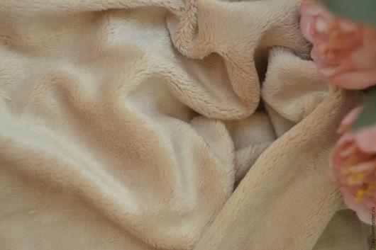 Куклы и игрушки ручной работы. Ярмарка Мастеров - ручная работа. Купить ПЛЮШ-НОВ БЕЖЕВЫЙ (50х50 см; коротковорсный). Handmade.