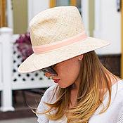 Аксессуары handmade. Livemaster - original item Fedor`s straw hat