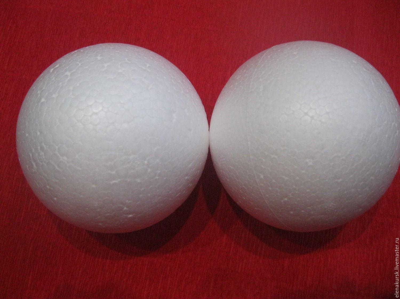 Пенопластовые шары и поделки из них: мастер-классы, идеи и 48