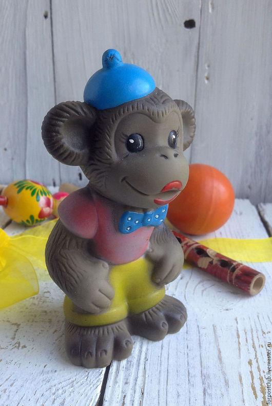 Винтажные куклы и игрушки. Ярмарка Мастеров - ручная работа. Купить Обезьянка игрушка резиновая. Handmade. Комбинированный, игрушка, винтаж, куплю