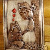 Картины и панно ручной работы. Ярмарка Мастеров - ручная работа Резное дерево_Серенада. Handmade.