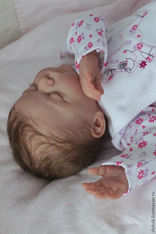 Куклы-младенцы и reborn ручной работы. Ярмарка Мастеров - ручная работа. Купить Малышка Линочка. Handmade. Кукла реборн, генезис