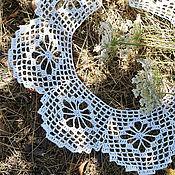 Аксессуары handmade. Livemaster - original item Delicate openwork collar