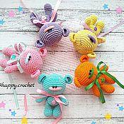 Куклы и игрушки ручной работы. Ярмарка Мастеров - ручная работа Мишка. Handmade.