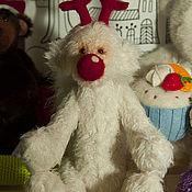 Куклы и игрушки ручной работы. Ярмарка Мастеров - ручная работа Новогодний медвежонок (ПРОДАН). Handmade.