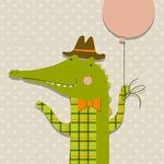 Клетчатый Крокодил (klekro) - Ярмарка Мастеров - ручная работа, handmade