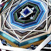 Фен-шуй и эзотерика ручной работы. Ярмарка Мастеров - ручная работа Живая шаманская мандала Великий Енисей. Handmade.
