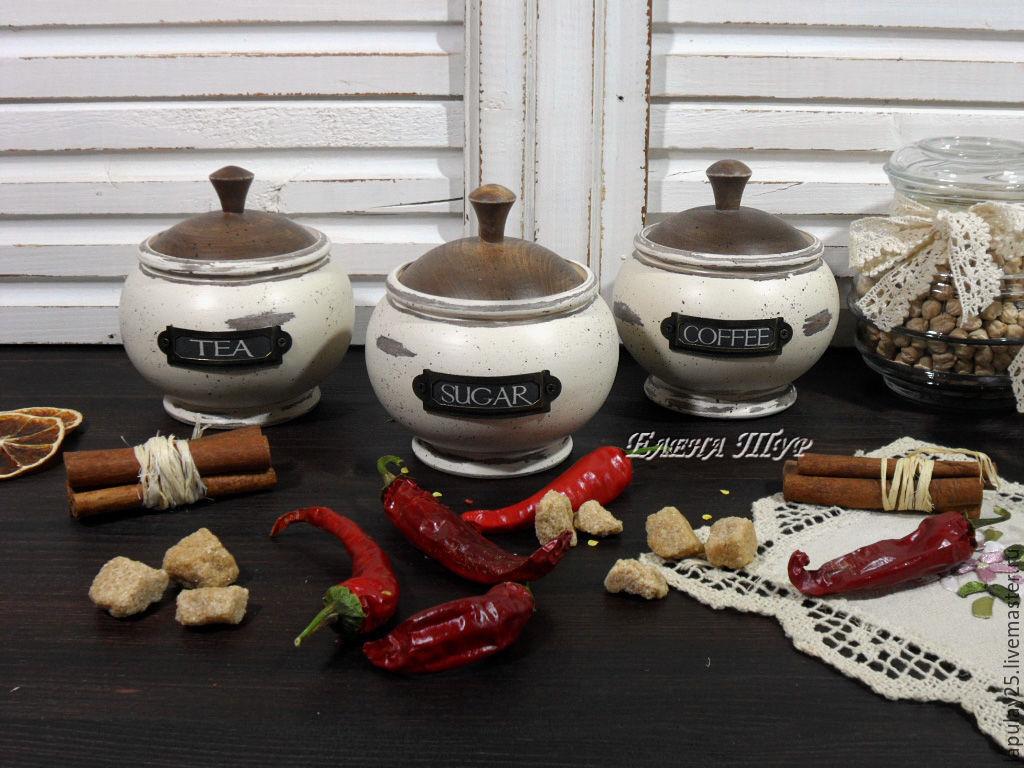 """Provence"" комплект баночек для кухни, Банки, Москва,  Фото №1"