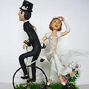 Куклы и игрушки ручной работы. Ярмарка Мастеров - ручная работа Побег со свадьбы. Handmade.