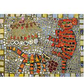 Картины ручной работы. Ярмарка Мастеров - ручная работа Картины: Мозаика по детским рисункам. Handmade.