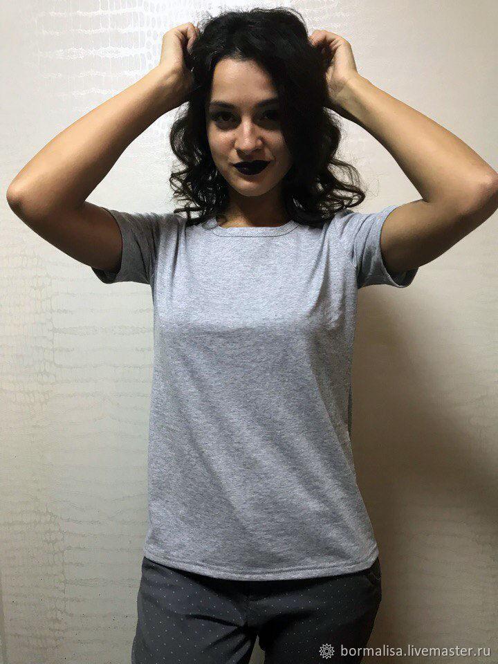 T-Shirts & A-Shirts handmade. Livemaster - handmade. Buy T-Shirt 'Bormalisa'.T-shirt, amazonite natural