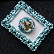 Украшения handmade. Livemaster - original item A beaded brooch