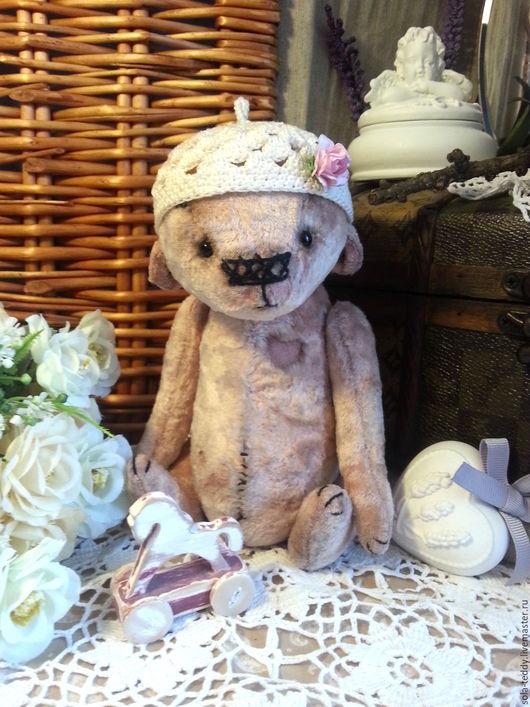 Мишки Тедди ручной работы. Ярмарка Мастеров - ручная работа. Купить Самая любимая!  Мишка Тедди. Handmade. Бледно-розовый