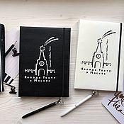 Канцелярские товары handmade. Livemaster - original item Diary on order. Handmade.