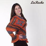"""Одежда ручной работы. Ярмарка Мастеров - ручная работа свитер """" Девушка - осень """". Handmade."""