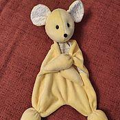 Куклы и игрушки handmade. Livemaster - original item Dolls and dolls: Comfort Mouse for a newborn. Handmade.