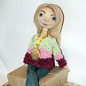 """Куклы и игрушки ручной работы. Ярмарка Мастеров - ручная работа Портретная кукла """"Ларочка"""". Handmade."""