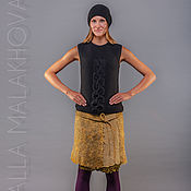 Одежда ручной работы. Ярмарка Мастеров - ручная работа Валяная юбка Настроение. Handmade.