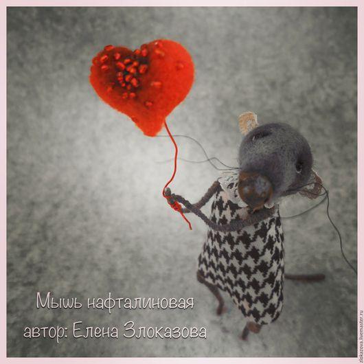 """Куклы и игрушки ручной работы. Ярмарка Мастеров - ручная работа. Купить мышки """"Нафталиновые"""". Handmade. Белый, подарки ручной работы"""