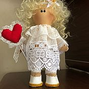 Куклы Тильда ручной работы. Ярмарка Мастеров - ручная работа Кукла Ангелок. Handmade.