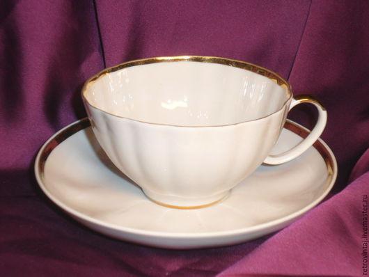 Винтажная посуда. Ярмарка Мастеров - ручная работа. Купить Костяной фарфор. Дулево. Handmade. Белый, костяной фарфор, костяной фарфор