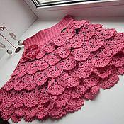 Работы для детей, ручной работы. Ярмарка Мастеров - ручная работа Юбка-шорты для девочки 6-7 лет. Handmade.
