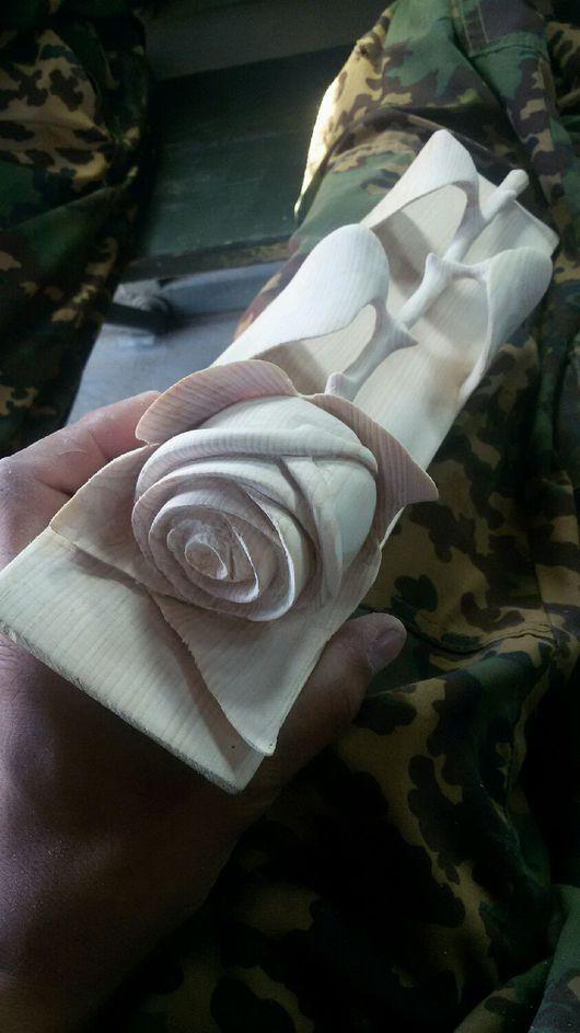 """Подарки для влюбленных ручной работы. Ярмарка Мастеров - ручная работа. Купить Роза""""Любимой навсегда"""". Handmade. Нежность, любимой"""