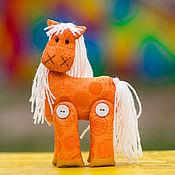 Куклы и игрушки ручной работы. Ярмарка Мастеров - ручная работа Лошадка апельсиновая. Handmade.