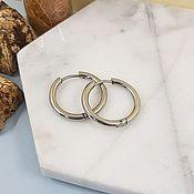 handmade. Livemaster - original item Shvenzy rings (bagels) 21h2,5 mm steel (4530). Handmade.
