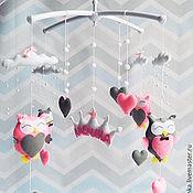 Подарки к праздникам handmade. Livemaster - original item The mobile in the crib felt - Prinzessin sowosky. Handmade.