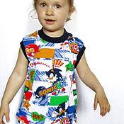 Работы для детей, ручной работы. Ярмарка Мастеров - ручная работа Комплект детский трикотажный. Шортики и маечка. Handmade.