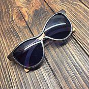 Аксессуары ручной работы. Ярмарка Мастеров - ручная работа Деревянные солнцезащитные очки модель INFINITY. Handmade.