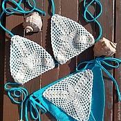 Одежда ручной работы. Ярмарка Мастеров - ручная работа Купальник - бикини. Handmade.