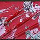 """Шитье ручной работы. Шифон натуральный шёлковый """"Dolce&Gabbana"""".. ' ЛАВКА  ЧУДЕС' (Ольга). Ярмарка Мастеров. Сарафан в пол"""