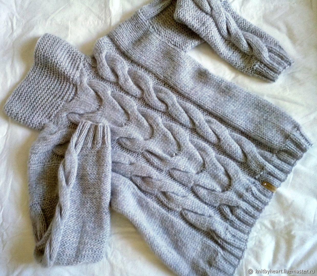 d67977baa68 Кофты и свитера ручной работы. Ярмарка Мастеров - ручная работа. Купить Вязаный  свитер оверсайз ...