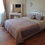Для дома и интерьера ручной работы. Ярмарка Мастеров - ручная работа Сиреневый комплект для спальни. Handmade.